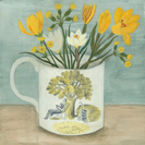 Ravilious cup and spring flowers